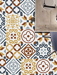 cheap -1Pc 20 Pieces Of New Retro Tiles Tiles Tiles Diy Free Splicing Decorative Wall Stickers Foreign Trade Wall Stickers Wholesale