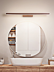 cheap -60 cm Led Mirror Lamp Bathroom Bathroom Mirror Lamp Modern Simple Aluminum Lamp Dance Dressing Room Lamp Background Wall Lamp