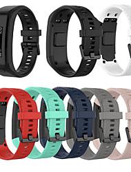 cheap -Soft Silicone Watch Band For Garmin Vivosmart HR Smart Watch Bracelet Replacement Wristband Adjustable Sports Watch Strap