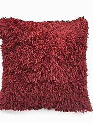 cheap -1pc Velvet Pillow Cover Solid Colored Square Traditional Classic