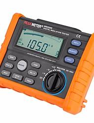 cheap -Insulation Resistance Tester PEAKMETER MS5205 Analog and Digital 2500V megger meter 0.01~100G Ohm with Multimeter