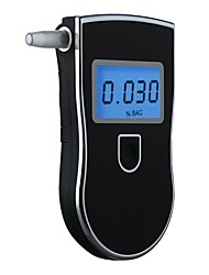 cheap -Alcohol Tester AT818 Handheld Breathing Drunk Driving Tester Portable Blue Screen Alcohol Tester