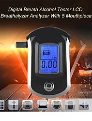 cheap -AT6000 Portable Alcohol Tester Handheld Breathing Drunk Driving Tester Blowing Alcohol Tester