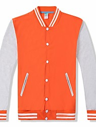 cheap -american letterman baseball school college varsity jacket real leather & wool 8 colors (small, black white)