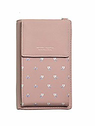 cheap -small crossbody shoulderbag leather cell phone purse with card holder for women
