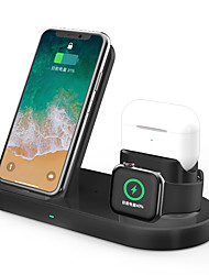 cheap -3 in 1 Fast Wireless Charger Dock Station Fast Charging For iPhone Apple Watch 2 3 4 5 AirPods Pro