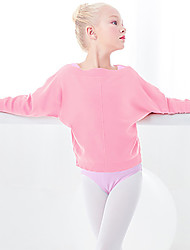 cheap -Ballet Top Lace Solid Girls' Training Performance Long Sleeve High Orlon
