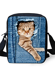 cheap -black cat shoulder bookbag women handbag kid girl cute mini crossbody messenger bag