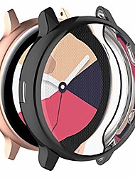 cheap -for samsung galaxy watch active 2 sm-r830 case cover - full coverage tpu protective case cover for samsung galaxy watch active 2 40mm sm-r830(tpu black)