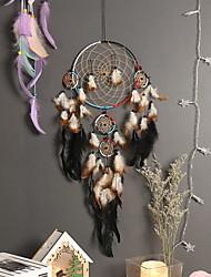 cheap -Boho Dream Catcher Handmade Gift Wall Hanging Decor Art Ornament Craft Indian Bead 70*20cm for Kids Bedroom Wedding Festival