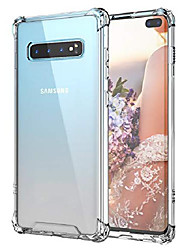 cheap -case for galaxy s10 plus,shockproof series hard pc+ tpu bumper protective case for samsung galaxy s10 plus 6.4 inch 2019 release crystal
