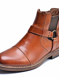 cheap -chelsea ankle boots, leather lined oxfords for men with zipper