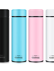 cheap -Fashion Thermos Water Bottle Stainless Steel Tumbler Gourde Isotherme Temperature Travel Mug Coffee Mug Thermos Tea Flask
