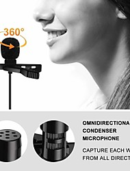 cheap -Newest Portable External 3.5mm Hands-free Mini Wired Lapel Lavalier Microphone For PC Laptop 3.5mm Externalc Hot sale