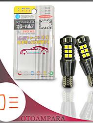 cheap -OTOLAMPARA 1 Pair Car Backup Light W16W Special for Honda Fit/ Vezel/ Nissan Note/ Serana/ Toyota Prius/ Aqua/ Sienta/Voxy/ Corolla/ Vitz Super Bright T15 LED Reverse Light