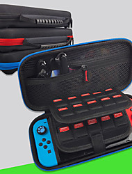 cheap -Carry Case for Nintendo Switch Portable Protection With Game Card Slots Solid Color Nylon EVA For Men and Women Casual Outdoor Indoor Everyday Use Portable
