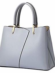 cheap -genuine leather handbags for women, 2020 excellent design shoulder bags satchels(light blue)
