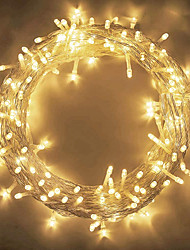 cheap -LED String Lights 800LEDs 400LEDs 300LEDs 200 LEDs 100 LEDs Plug in String Lights 8 Modes Waterproof Indoor Outdoor Christmas Tree Wedding Party Bedroom Decorations EU Plug 220-240V and US Plug 120V