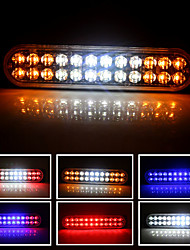 cheap -1pcs Motorcycle / Car Light Bulbs 72 W 24 LED Strobe / Flashing For universal All Models All years