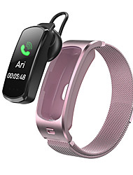cheap -Bluetooth Headset Sports Step Counter Two in One Bracelet Health Monitoring Sleep Message Push Smart Bracelet