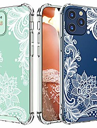cheap -case for iphone 12,for iphone 12 pro, shockproof series hard pc+ tpu bumper protective case for iphone 12/for iphone 12 pro 6.1 inch 2020 released(white)