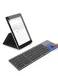 cheap -Mini Folding Keyboard Bluetooth Foldable Wireless Keypad with Touchpad for Windows Android ios Tablet ipad2020 Phone