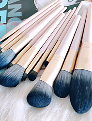cheap -12 Sets of Makeup Brush Sets Beginners A Full Set of Beauty Tools Girl's Heart New Set of Brushes for Soft Hair Without Sticking Face