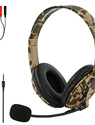 cheap -3.5mm MP3 Gaming Headset Headphones Earphones Gamer Stereo Headphone Computer Earphones with Microphone for PS4 PS3 Xbox Switch