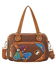 cheap -Women's Bags Waterproof Top Handle Bag Hobo Bag Daily 2021 Handbags Black Blue Dark Red Green
