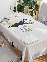 cheap -Thick Waterproof Tablecloth Square Tablecloth Decorative Kitchen Rectangular Tablecloth 1 pc
