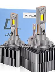 cheap -1set D1S D2S D3S D4S D5S D8S Car headlight bulb 20000LM 45W Canbus No Error D Series Lights 6000K White Auto LED Headlamp12V