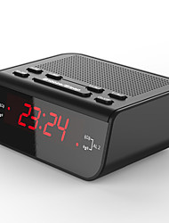 cheap -Alarm Clock Fm Radio With Dual Alarm Buzzer Sleep Snooze Function Led Time Clock Alarm Clock Electronic Light Big Time Clock