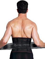 cheap -Back Brace Back Support / Lumbar Support Belt Waist Trimmer / Sauna Belt for Fitness Gym Workout Running Adjustable Muscle support Compression Tummy Fat Burner Sweat Out Men's Women's Nylon Emulsion