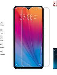 cheap -2PCS Vivo Screen Protector Vivo X50 X30Pro X20Plus X9S X7 X6 / Y66 Y50 Y17 Y9S Y5S / IQOO Neo3 5G/ IQOO U1 / S6 S5 S1/ Z6 Pro High Definition (HD) Front Screen Protector Tempered Glass