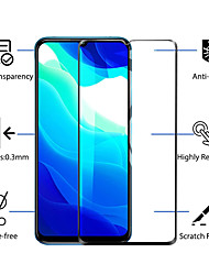 cheap -2PCS Xiaomi Screen Protector Mi Note 10 Pro / Mi Note 10 Lite / Mi Note 10 High Definition (HD) Front Screen Protector Tempered Glass Second-Generation Enhanced Screen Printint
