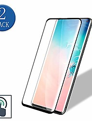 cheap -2-Pack 3D Tempered Glass Screen Protector For Samsung Galaxy S21 Ultra S21Plus Anti-bubble 9H Hardness  Full Curved Protective Film For Samsung Galaxy S20 S20Plus S20 FE S10 Lite S10E