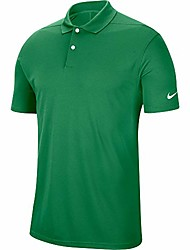 cheap -golf dry victory polo , classic green/white, x-large