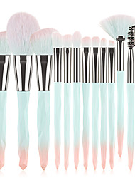cheap -Professional Makeup Brushes 13pcs Soft Full Coverage Color Gradient Adorable Comfy Plastic for Makeup Tools Blush Brush Makeup Brush Lash Brush Eyebrow Brush Eyeshadow Brush