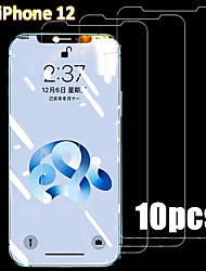 cheap -10PCS Tempered Glass For iPhone 12 11 Pro Max 12 Mini Protective Films For iPhone 12 11 X XS MAX XR SE 2020 8 7 6 Plus 5 se Full Cover Screen Protector Tempered Glass