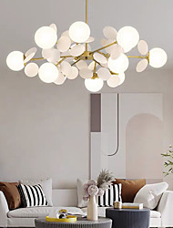 cheap -90 cm Chandelier Nordic Style Global Bulbs Artistic Modern Fashion Metal 110-120V 220-240V
