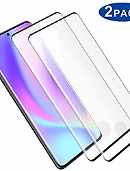 "cheap -[2-pack] s20 plus screen protector,fingerprint recognition 3d touch coverage hd clear anti-bubble 9h hardness tempered glass screen protector for samsung galaxy s20 plus/s20+ (6.7"")"