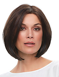 cheap -Synthetic Wig Straight Bob Wig Short Dark Brown Synthetic Hair Women's Fashionable Design Comfortable Exquisite Brown