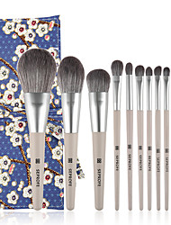 cheap -12 Pcs Makeup Brush Set Beauty Tools Animal Hair Makeup Brush Set Loose Powder Eye Makeup Brush Set
