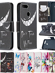 cheap -Phone Case For OPPO Full Body Case Leather Wallet Card Oppo Find X2 oppo A9 2020 OPPO A5 2020 Oppo Reno 4 Oppo Realme 6 / Realme 6S Oppo A72 / A52 / A92 Oppo A5 / A3S / AX5 / A12E Wallet Card Holder