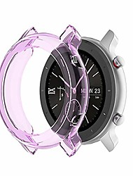 cheap -hard protective case watch screen protector full coverage premium clear touch screen protector cover case for amazfit gtr watch