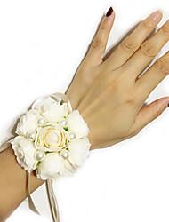 cheap -wedding flowers wrist corsages wedding fabrics 0-10 cm