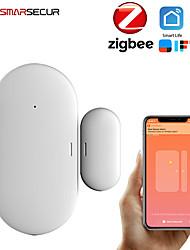 cheap -ZB-DWC-3 Plastics Intelligent Lock Smart Home Security iOS / Android System Anti-prizing function Home / Office / Apartment / Villa Security Door / Wooden Door / Glass Door (Unlocking Mode