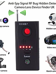 cheap -Full Range Scan Wireless Spy Camera GPS RF Bug Signal Detector Wireless Spy Camera GSM Device Tracer Finder With Compass