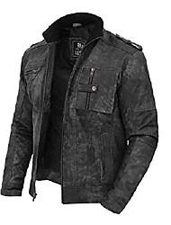 cheap -black leather jackets for men   [1108766] tavares, xxl