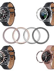 cheap -Bezel set with diamonds forGalaxy Watch 3 41mm Titanium Alloy Diamond 1 pcs